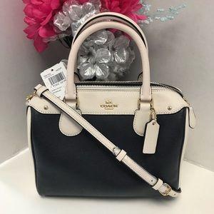 Coach Bennett Mini Colorblock Crossbody / Handbag